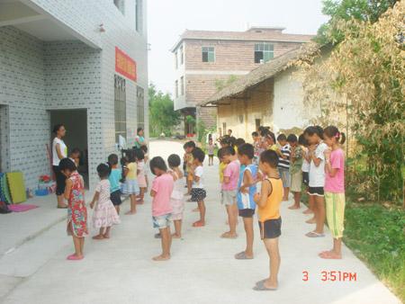 湖南:祁阳教会关爱留守儿童迈出第一步