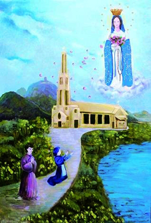 天主教歌曲,天主教和基督教的区别,天主教圣歌,天主教圣母像