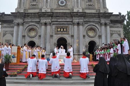 天主教广西教会