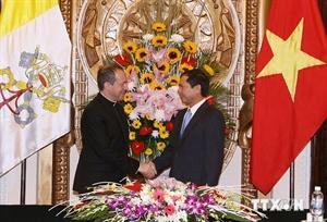 圣座与越南关系取得积极进展