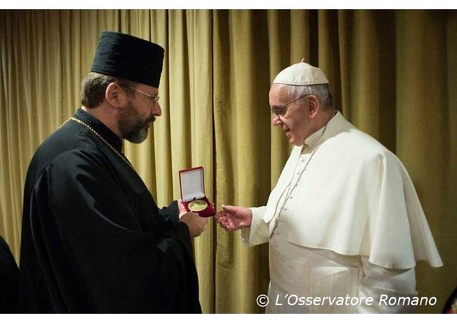 天主教信德网_教宗方济各:乌克兰天主教希腊礼教会在