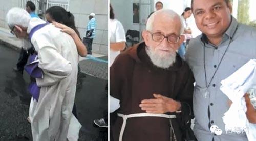 巴西95岁老神父健走3.5英里作悔改和补赎