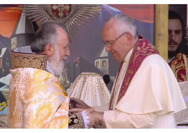 天主教信德网_亚美尼亚:教宗参加宗徒教会的神圣礼仪