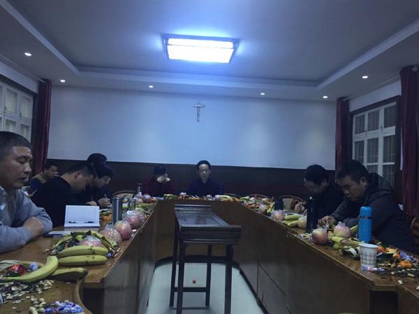 江西:神父相聚庐山利玛窦灵修中心,开启年度避静模式