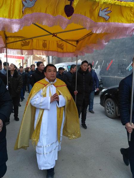 河北:魏县东杨善堂区隆重庆祝露德圣母显现160周年,献上三重大礼