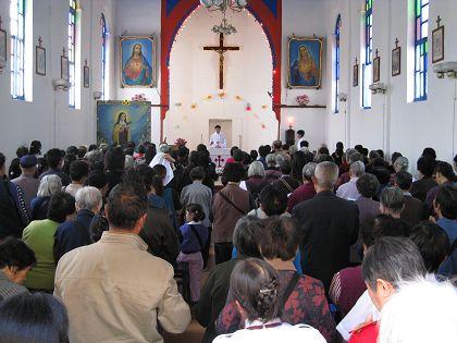主保弥撒祭献、祈求天主祝福-天主教信德网 贵州 惠水堂区 欢庆主保