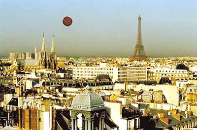 巴黎铁塔木材模型图片